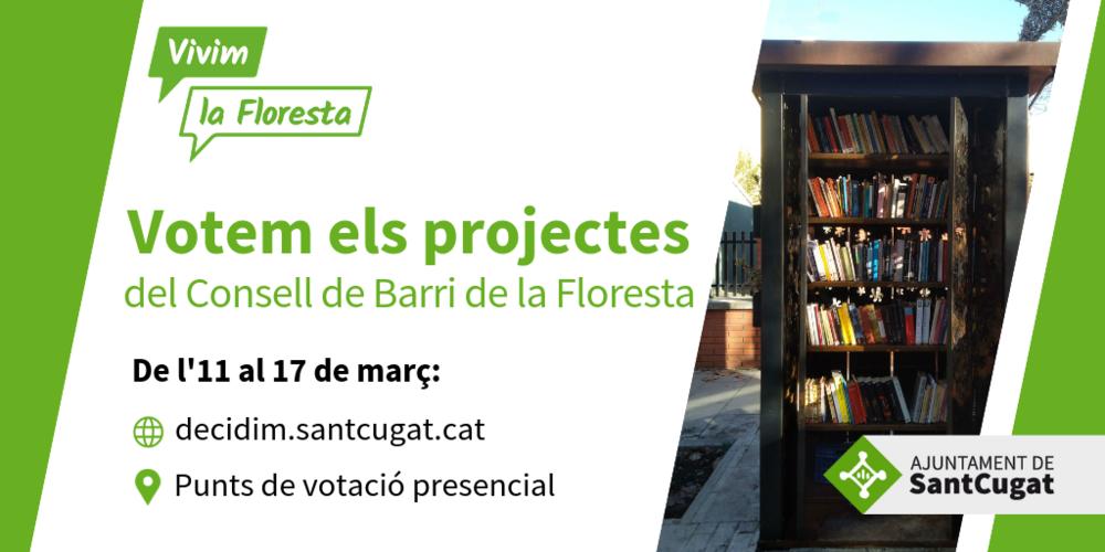 Decidim el pressupost del Consell de Barri de La Floresta 2019