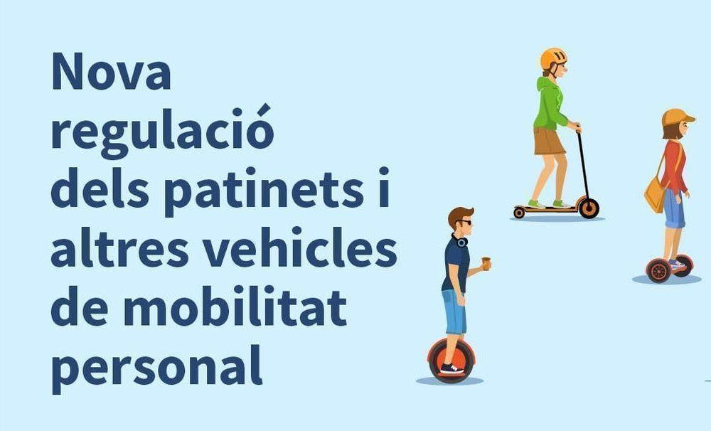 Nova regulació dels patinets i altres vehicles de mobilitat personal
