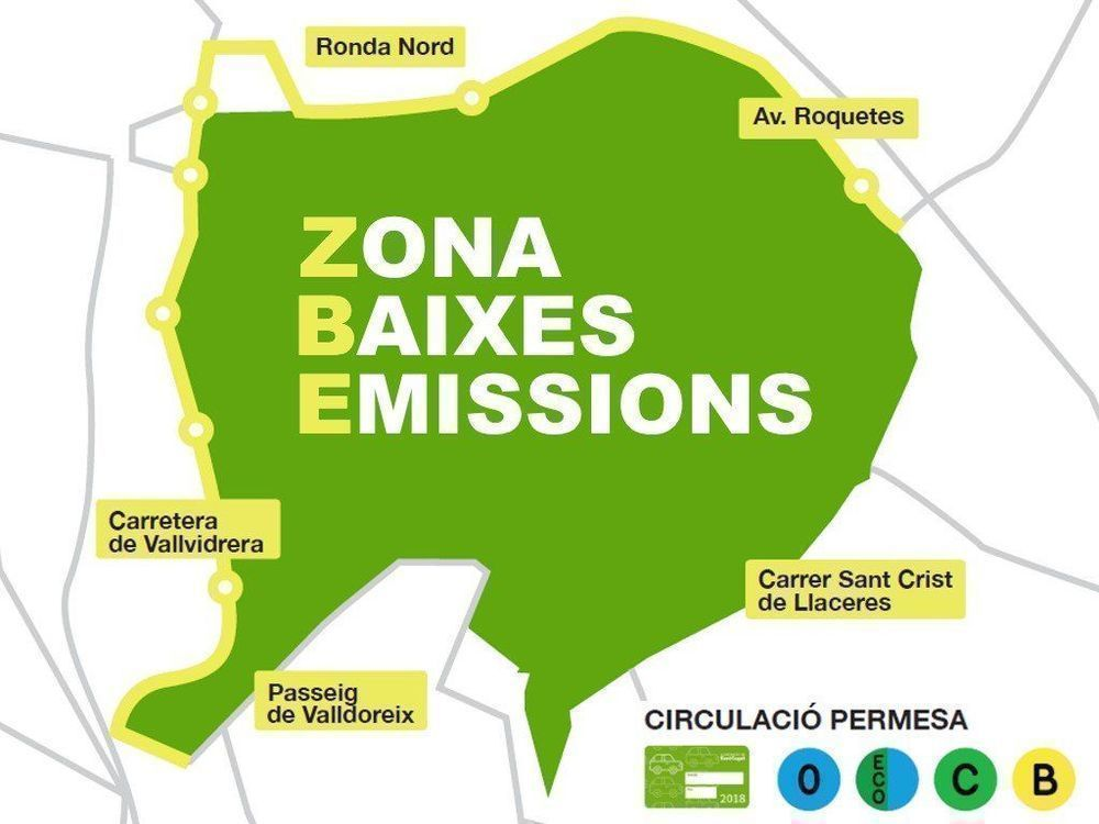 Nova ordenança de la la Zona de baixes  emissions